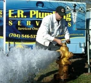 Charlotte plumber flush hydrants