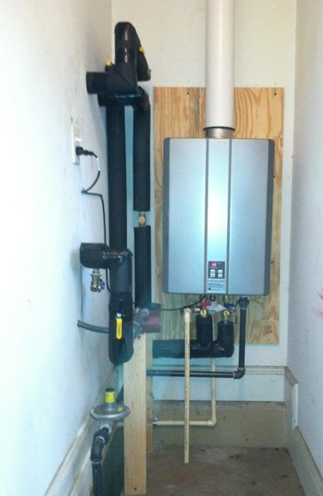 Tankless water heater charlotte