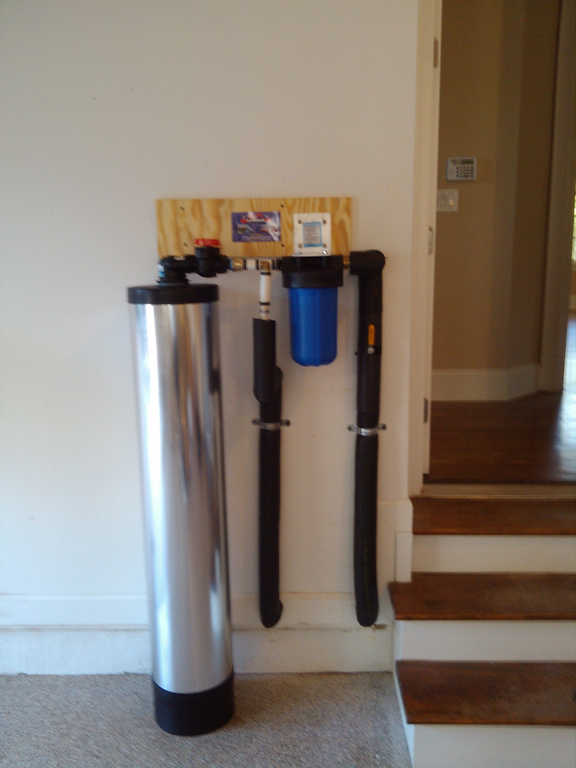 Need a water filtration system Charlotte
