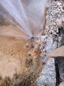 ERP Massive water leak