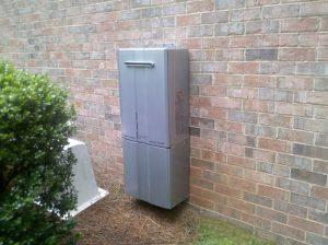 ERP Outside tankless install