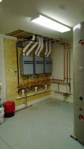 ERP multiple tankless installs