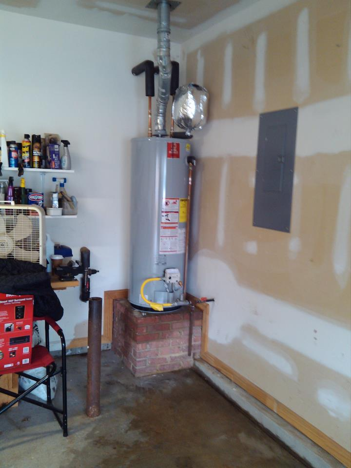 how to tell if hot water heater is full