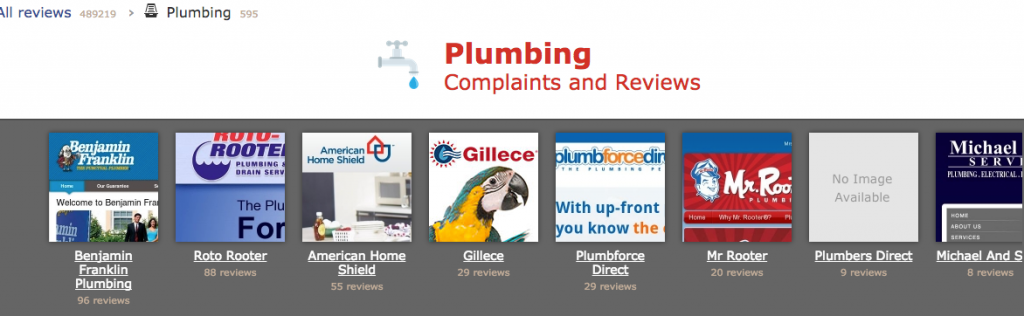 Charlotte Plumbers Complaints