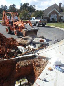 Charlotte slab leak repair services hidden leak for The leaky pipe carries more water